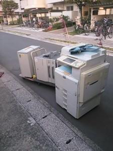コピー機処分 東京都 江戸川区 清新町 コピー機回収 不用品処分 不用品回収 不要品処分 不要品回収 廃品回収 一人暮らし引越し 単身引っ越し リサイクル引越し