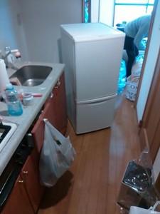 冷蔵庫処分 東京都 千代田区 岩本町 冷蔵庫回収 不要品処分 不要品回収 不用品処分 不用品回収 廃品回収 一人暮らし引越し 単身引っ越し リサイクル引越し
