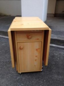 ワゴン処分 東京都 葛飾区 白鳥 ワゴン回収 家具回収 家具処分 不用品処分 不用品回収 不要品処分 不要品回収 廃品回収