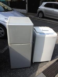 冷蔵庫・洗濯機処分 東京都 新宿区 戸山 冷蔵庫・洗濯機回収 家電回収 家電処分 不要品処分 不要品回収 不用品処分 不用品回収 廃品回収 一人暮らし引越し 単身引っ越し リサイクル引越し