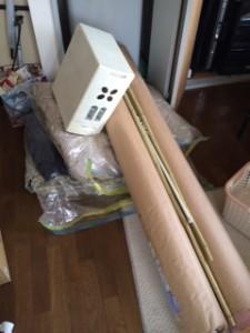 練馬区でカーペットと布団を回収しました。