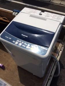 リサイクル処分した洗濯機です。