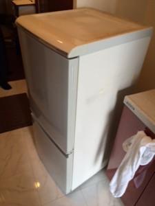 練馬区で冷蔵庫の回収を承りました。