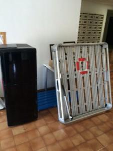江戸川区で冷蔵庫・キャリーの回収