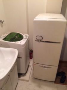 松戸市で冷蔵庫洗濯機を回収致しました。