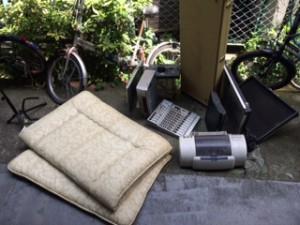 布団、プリンタ、PCプリンタモニター等の不用品回収