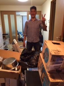 草加市のお客様より不用品回収を承りました。