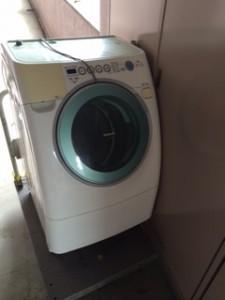 ドラム式洗濯機 回収
