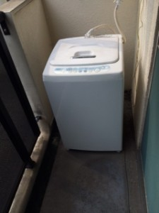 台東区で洗濯機の処分