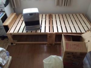 足立区でベッドの回収処分