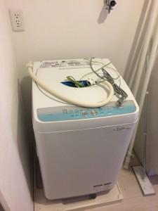 港区で洗濯機回収